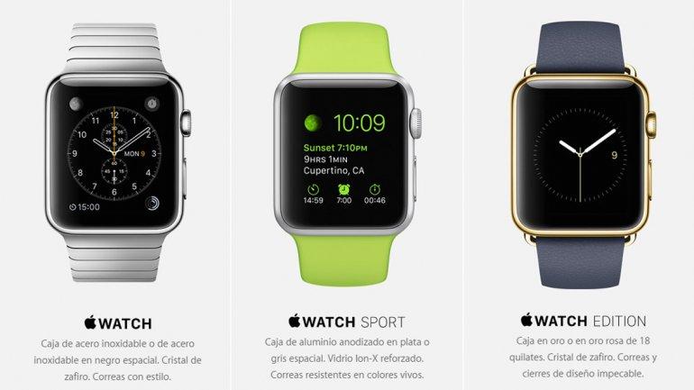 Precio del Apple Watch