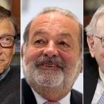 Los 10 Hombres más Ricos del Mundo