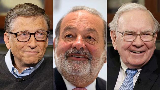 Las personas mas ricas del mundo